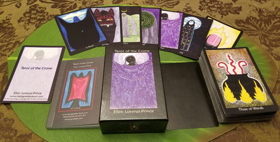 Tarot of the Crone 78-card Deck & Book Set