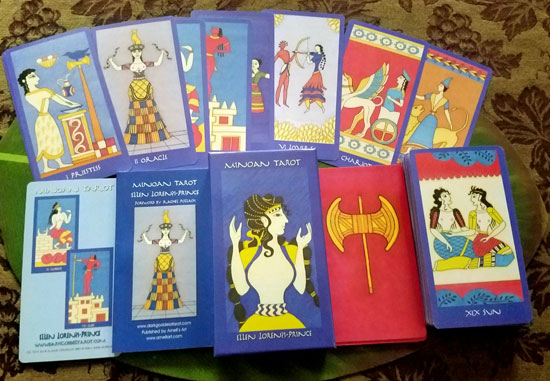 Minoan Tarot Deck & Book Set